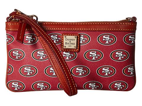 Dooney & Bourke NFL Large Slim Wristlet - San Francisco