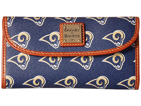 Dooney & Bourke NFL Continental Clutch - Los Angels Rams