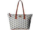 Dooney & Bourke NFL Zip Top Shopper