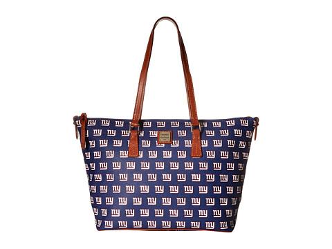 Dooney & Bourke NFL Zip Top Shopper - New York Giants
