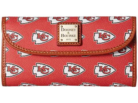 Dooney & Bourke NFL Continental Clutch - Kansas City