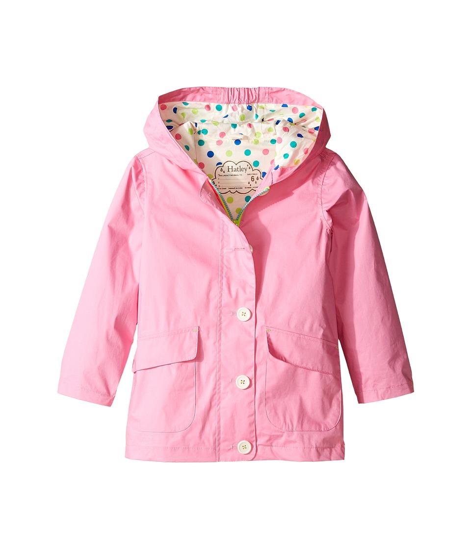 Hatley Kids - Colorful Polka Dots Cotton Coated Raincoat