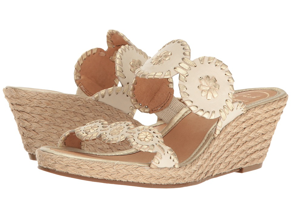 Jack Rogers Shelby (Bone/Gold)