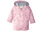 Hatley Kids - Silver Butterflies Splash Jacket (Toddler/Little Kids/Big Kids)