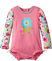 Hatley Kids - Wallpaper Flowers Rashguard (Infant)