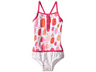 Hatley Kids - Tropical Pineapples Color Block Swimsuit (Toddler/Little Kids/Big Kids)