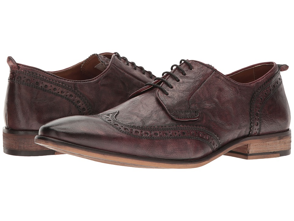 Steve Madden Analog (Burgundy) Men