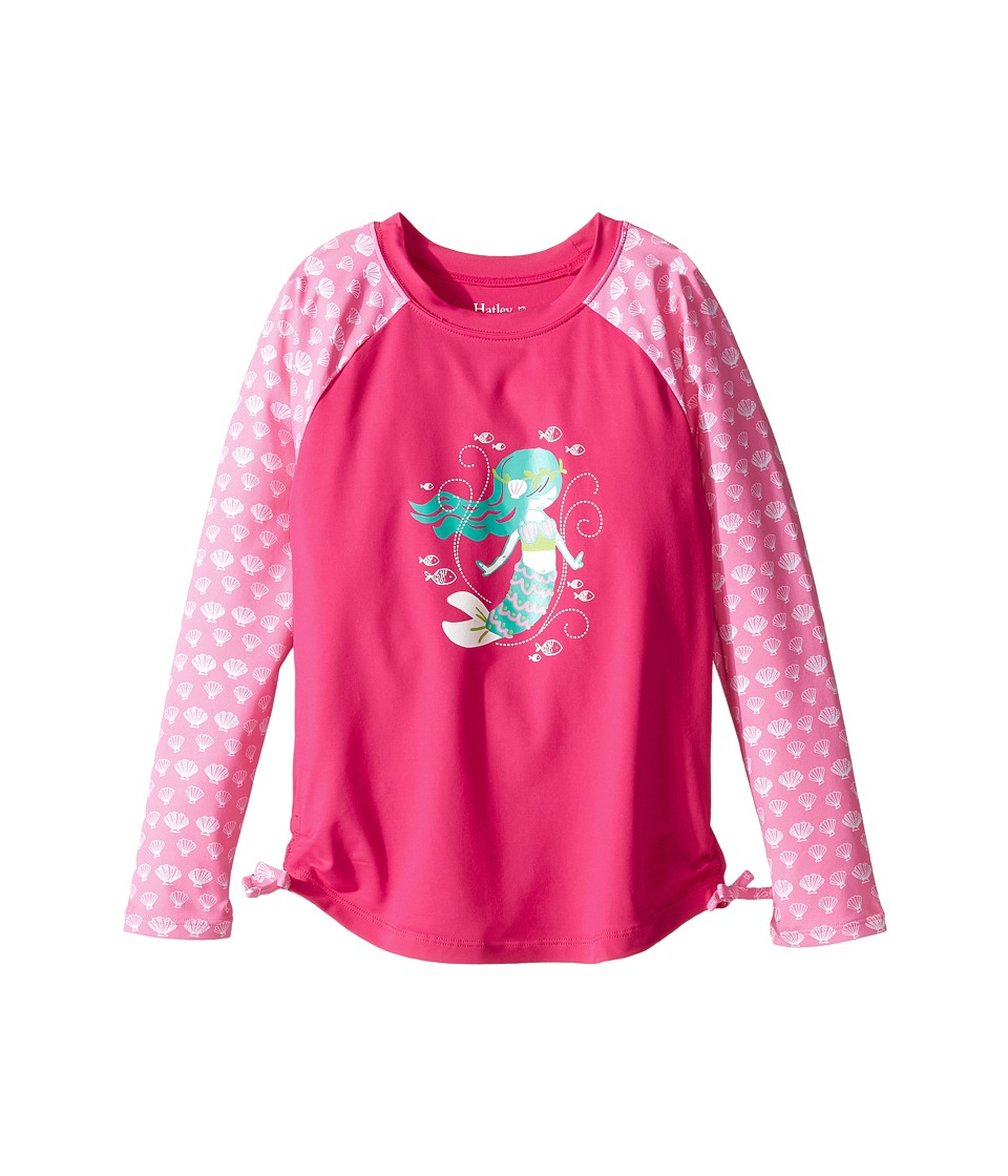 Hatley Kids Sweet Mermaid Rashguard (Toddler/Little Kids/Big Kids) (Pink) Girl