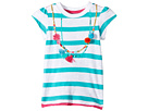 Shell Necklace Graphic Tee (Toddler/Little Kids/Big Kids)