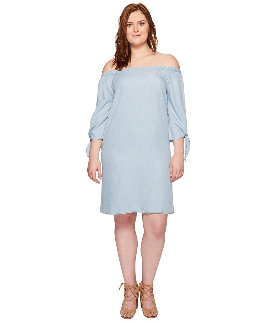 B Collection by Bobeau Curvy - Plus Size Lyocell Off Shoulder Dress