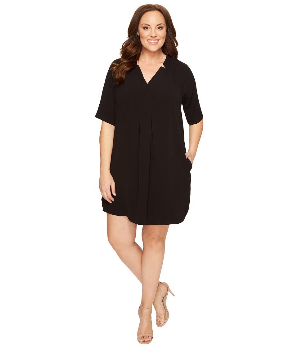 B Collection by Bobeau Curvy - Plus Size Loren Shirtdress