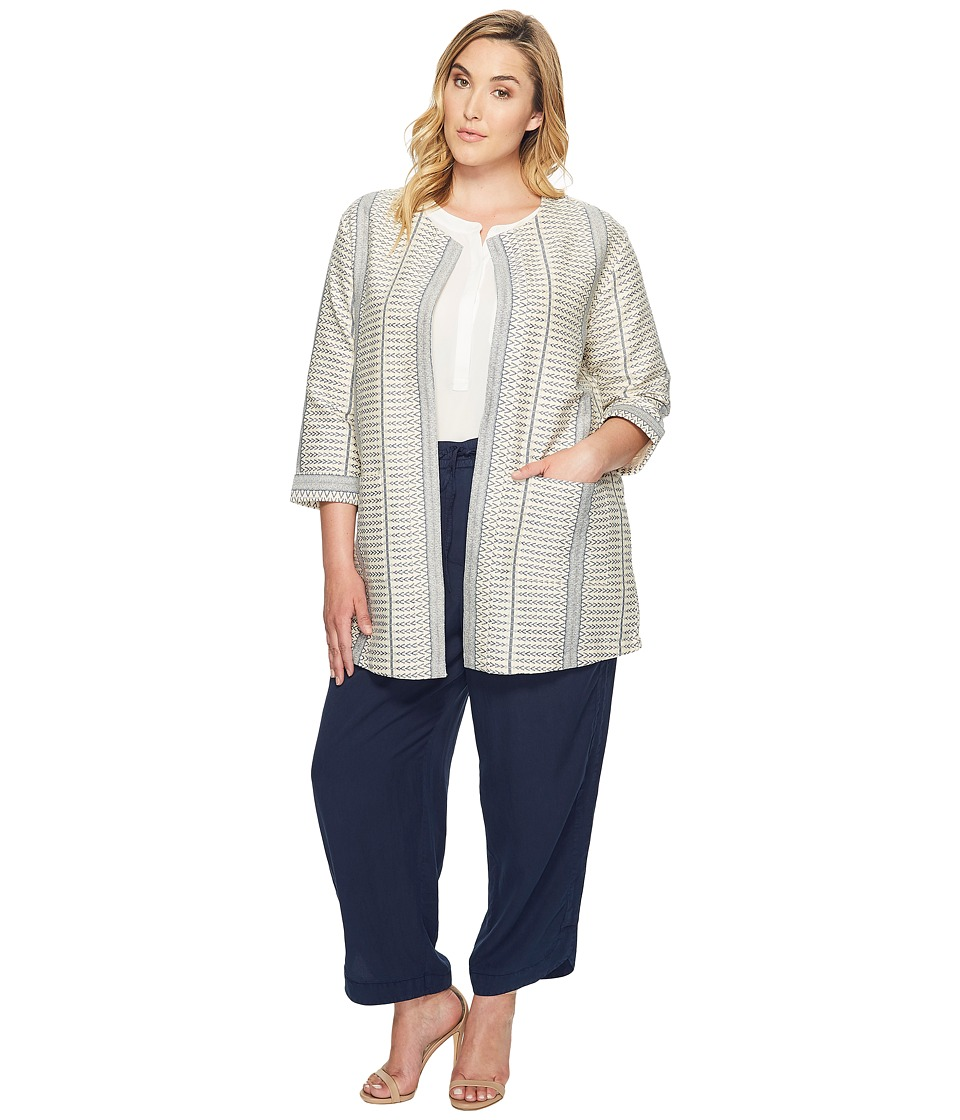B Collection by Bobeau Curvy B Collection by Bobeau Curvy - Plus Size Abel Woven Jacket
