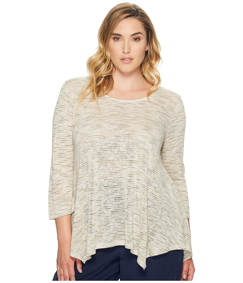 B Collection by Bobeau Curvy B Collection by Bobeau Curvy - Plus Size Langley Hanky Hem Top