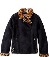 Urban Republic Kids - Ultra Suede Faux Shearling Jacket (Little Kids/Big Kids)