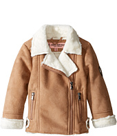 Urban Republic Kids - Ultra Suede Faux Shearling Jacket (Toddler)