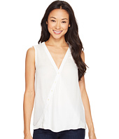 B Collection by Bobeau - Carlie Surplice Tank Top