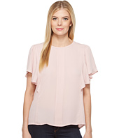 B Collection by Bobeau - Acacia Flutter Sleeve Top