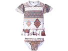 Seafolly Kids Moroccan Paisley Rashie Set (Infant/Toddler/Little Kids)