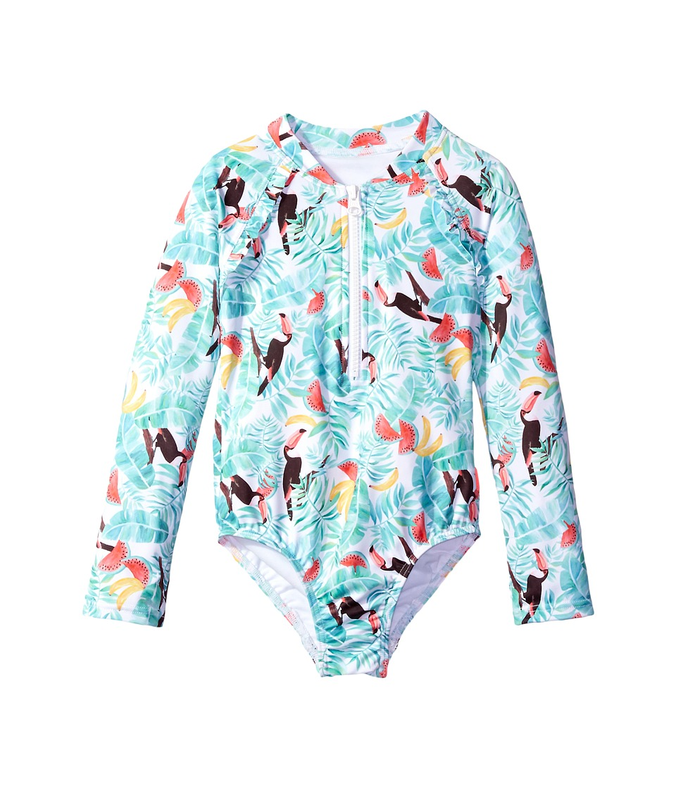 Seafolly Kids - Touci Frutti Long Sleeve Surf Tank One-Piece