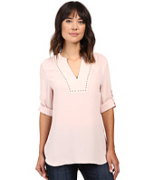 Ivanka Trump - Georgette Tunic with Studs