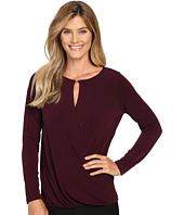 Ivanka Trump - Long Sleeve Beaded Matte Jersey