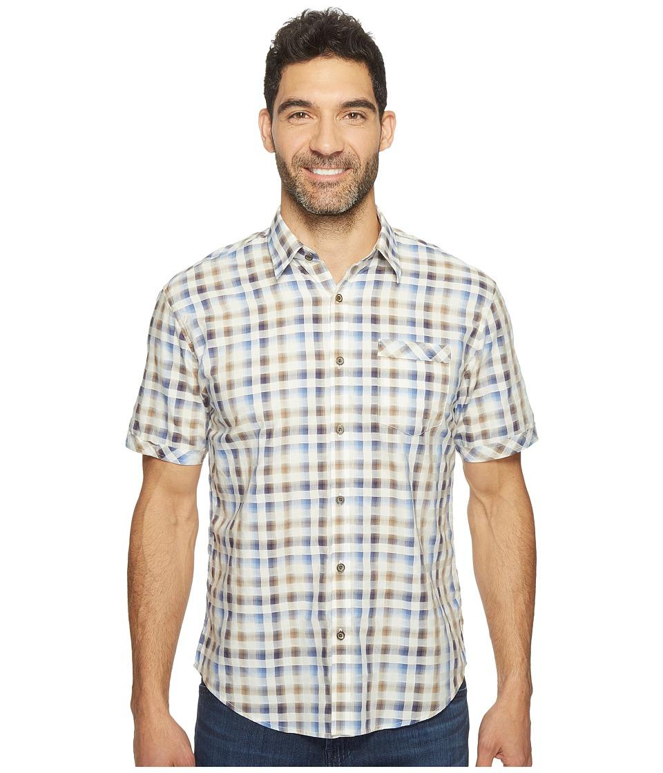 James Campbell - Facto Short Sleeve Plaid Shirt