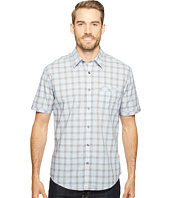 James Campbell - Matrix Short Sleeve Woven Plaid Shirt