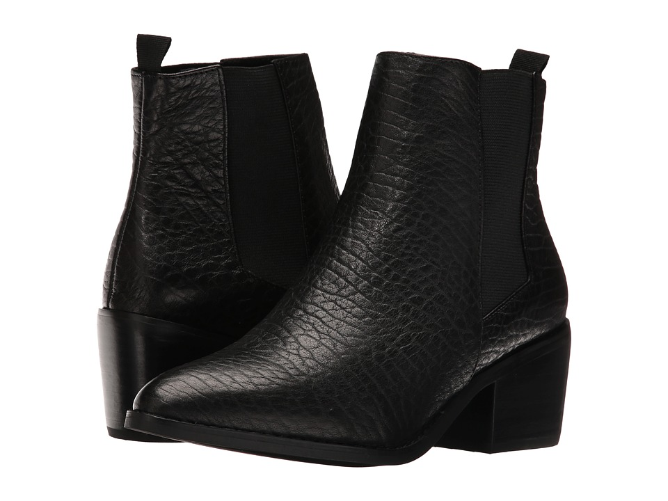 Sol Sana Edgar Boot (Black Elephant Leather) Women