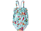 Hatley Kids - Tropical Birds Ruffle Swimsuit (Infant)