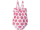 Hatley Kids - Henna Floral Ruffle Swimsuit (Infant)
