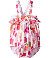 Hatley Kids - Tropical Pineapples Ruffle Swimsuit (Infant)