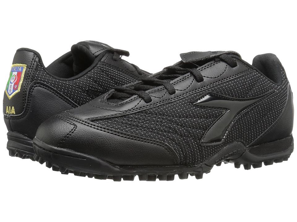 Diadora Referee TF II (Black) Soccer Shoes