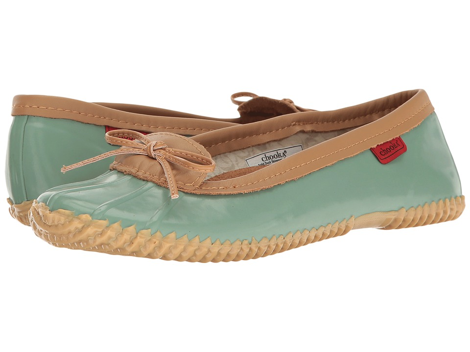 Chooka - Duck Skimmer (Sage Glossy) Womens Flat Shoes
