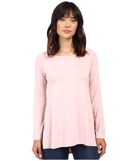 Karen Kane Hi-Lo Raglan Sleeve Top - Pink