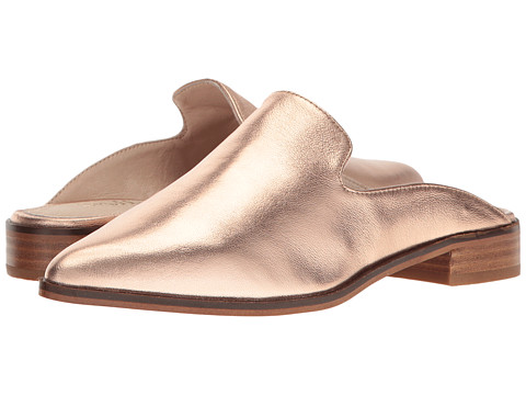Shellys London Cantara Mule - Rose Gold Leather