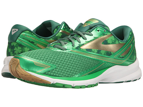 Brooks Launch 4 - St Pattys Day/Fern Green/Vibrant Green