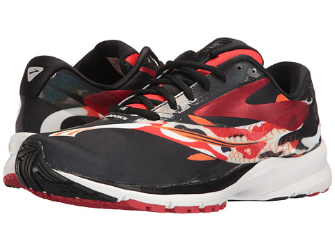 Brooks Launch 4 - Tokyo/Black/High Risk Red
