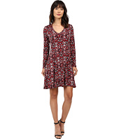 Karen Kane - Long Sleeve Fit & Flare Dress