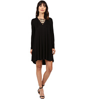 Karen Kane - Lace-Up Maggie Trapeze Dress
