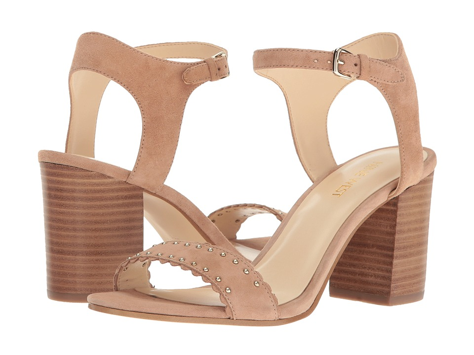 Nine West - Gurl (Natural Suede) Womens Shoes