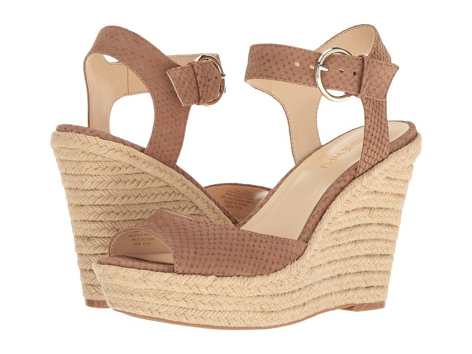 Nine West - Jerrika (Natural Nubuck) Womens Shoes
