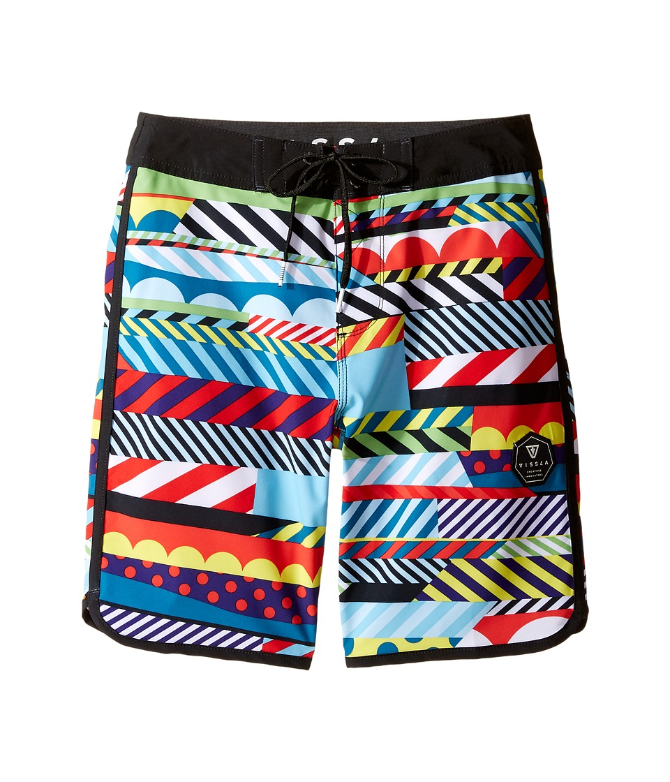 VISSLA Kids Woodside Four-Way Stretch Boardshorts 17 (Big Kids) (Multi) Boy
