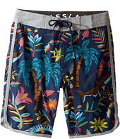 VISSLA Kids - Bocca De Tiburon Four-Way Stretch Boardshorts 17