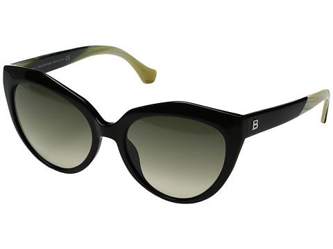 Balenciaga BA0048 - Shiny Black/Gradient Green