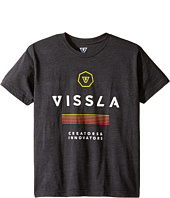 VISSLA Kids - Patriot 30 Singles Short Sleeve Tee (Big Kids)