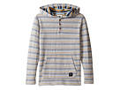 VISSLA Kids - The Box Hooded Henley Reversed French Terry (Big Kids)