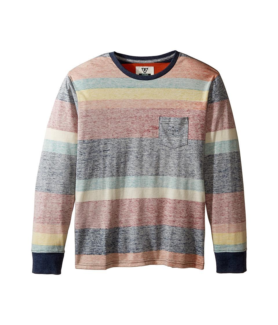 VISSLA Kids - Washed Out Long Sleeve Knit