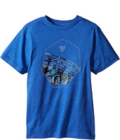 VISSLA Kids - Shark Alley 30 Singles Short Sleeve Tee (Big Kids)