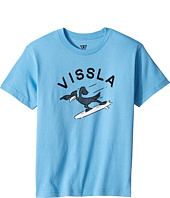 VISSLA Kids - H-Bent 30 Singles Short Sleeve Tee (Big Kids)