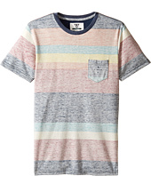 VISSLA Kids - Washed Out Short Sleeve Knit (Big Kids)